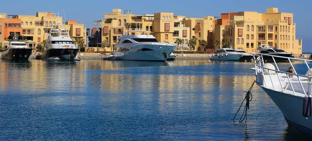 El-Gouna Yachthafen