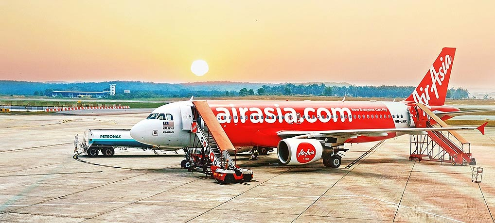 billige air Asia Flüge, Sale für Singlereisen und den Singleurlaub