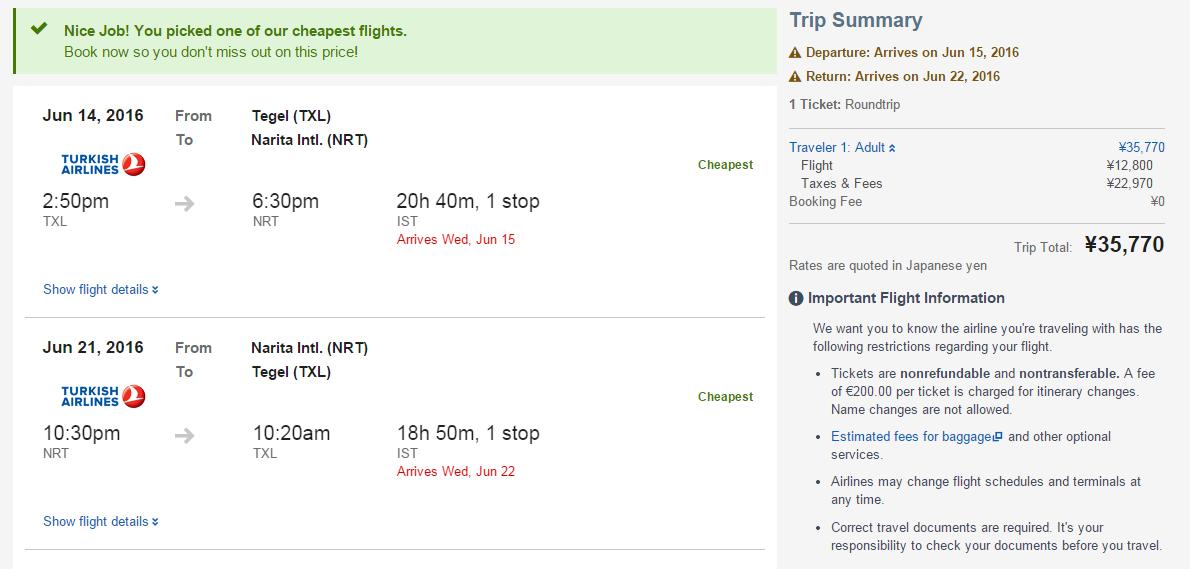 Nur 267€: Flüge Berlin Tokyom, Juni 2016, bei Expedia Japan, ideal für Singlereisen, Singleurlaub, Solourlaub, Alleine reisen