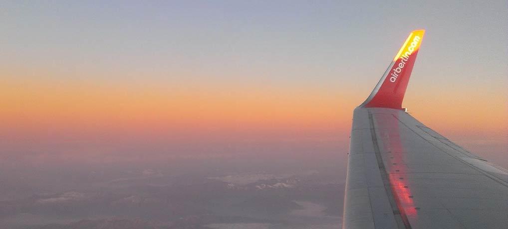 Fliegen mit AirBerlin, Singleurlaub, Singlereisen, Billig fliegen, Tegel, Emirates