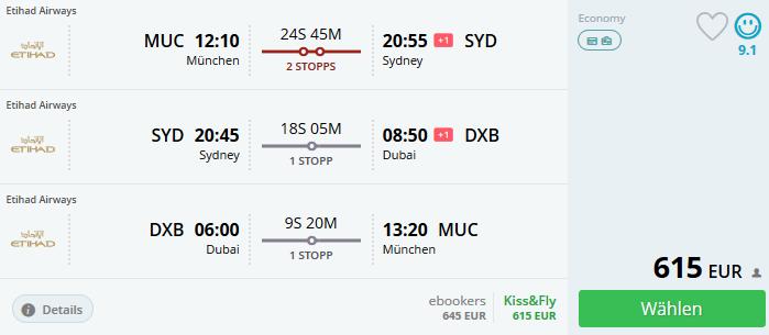 Sydney, Australien, Dubai, Flüge nach Australien, Etihad Airways, Singleurlaub, soloreise, solourlaub, alleine reisen