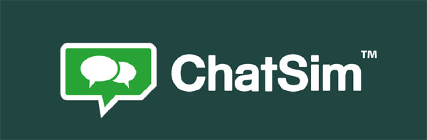 ChatSIM - Logo von ChatSim.com der Firma ZeroMobile
