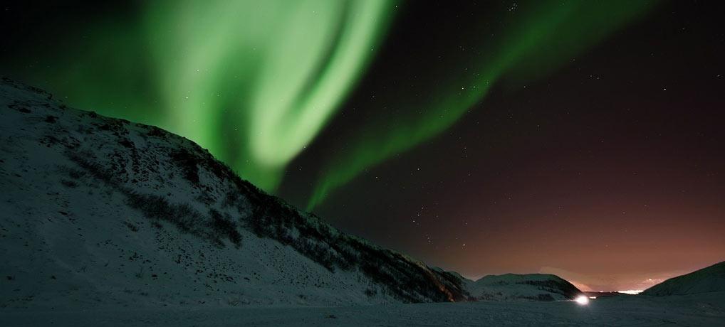 Nordlichter sehen, beste Regionen, Singleurlaub, Schweden, Norwegen, Kanada, Alaska, Sibirien, Finnland