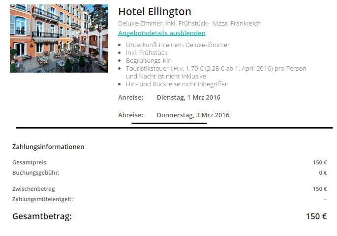 nizza, hotel, ellingtonm singleurlaub, easyhet, flüge
