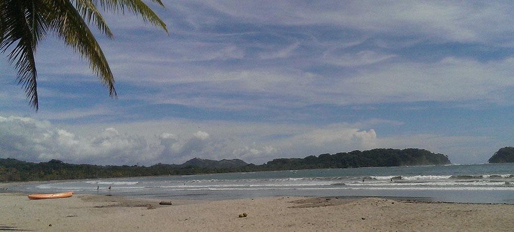 Samara auf der Halbinsel Nicoya in Costa Rica - Traumstrand und kleines Surferparadies