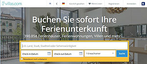 villas.com, booking.com, unterkünfte, air bnb, bed & breakfast, travel, solo, urlaub