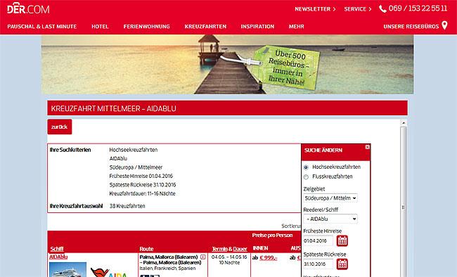 Kreuzfahrten für Singles, Singlereisen, singleurlaub, pauschalreisen der.com, solo-urlaub.de