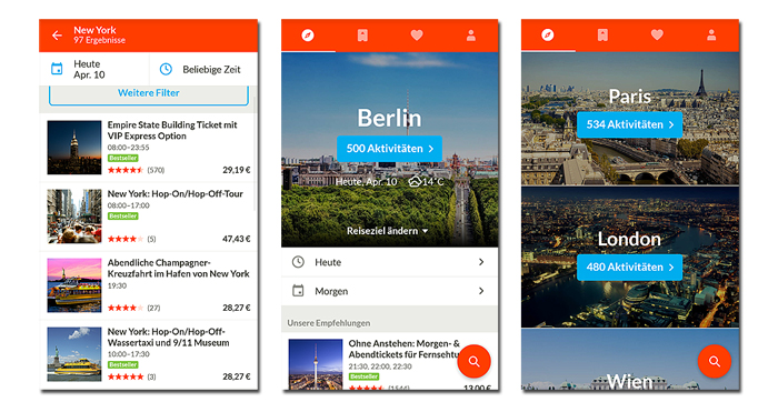 getyourguide, app, single, urlaub, reisen, travel, solo, android