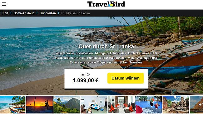 Singlereisen nach Sri Lanka