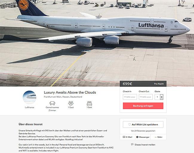 airbnb, lufthansa, airline, premium economy, singleurlaub, singlereisen