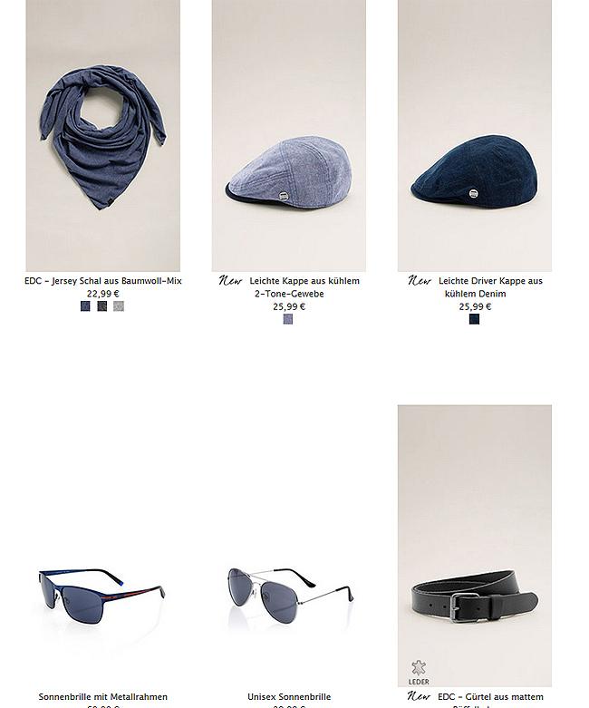 accessoires für die Reise bei dne holidayoutfits von esprit