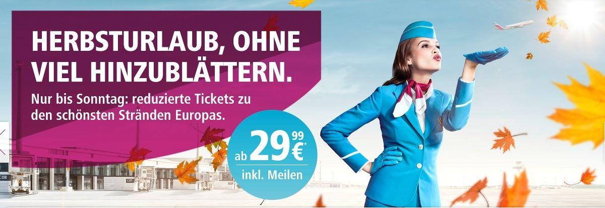 Singleurlaub, Eurowings, deals, angebote, flüge, reisen, Urlaub, Asien, Europa