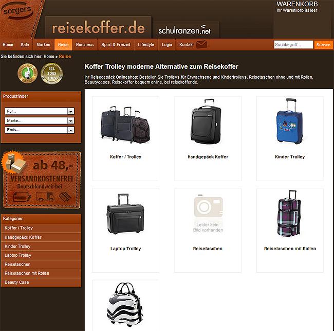 Koffer für deinen Singleurlaub bei Reisekoffer.de