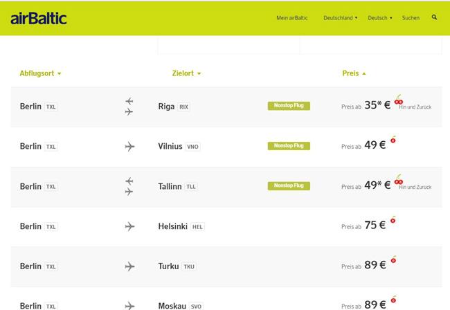 airBaltic, sale, november, cherry, lettland, estland, tallin, riga, baltikum
