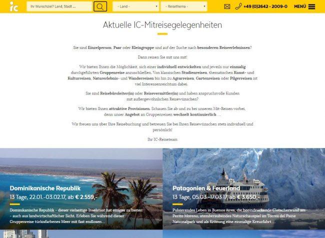 ic gruppenreisen, singleurlaub, einzelreisende, patagonien, südamerika, spezialreisen