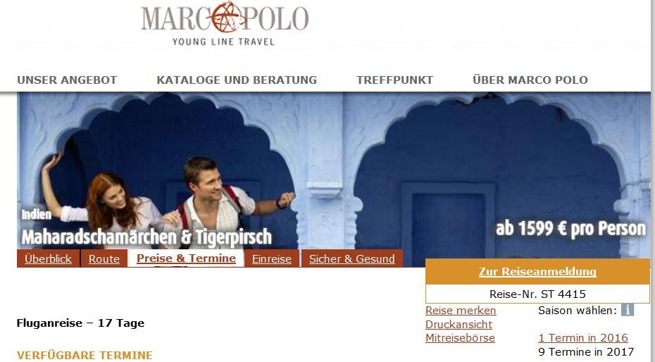 singleurlaub. alleine Reisen, indien, delhi, marco polo young line