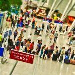 singleurlaub, reisen, flughafen, checkin, kontrolle, sicherheit