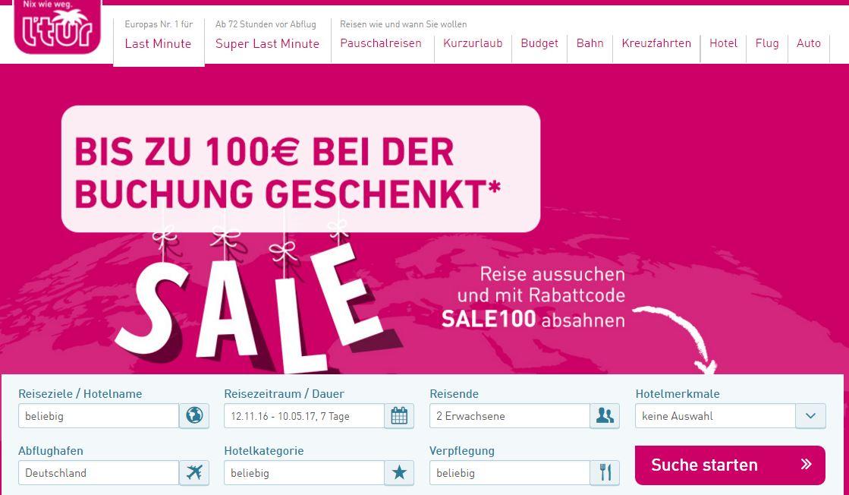 ltur pink friday, last minute, sparen, singleurlaub