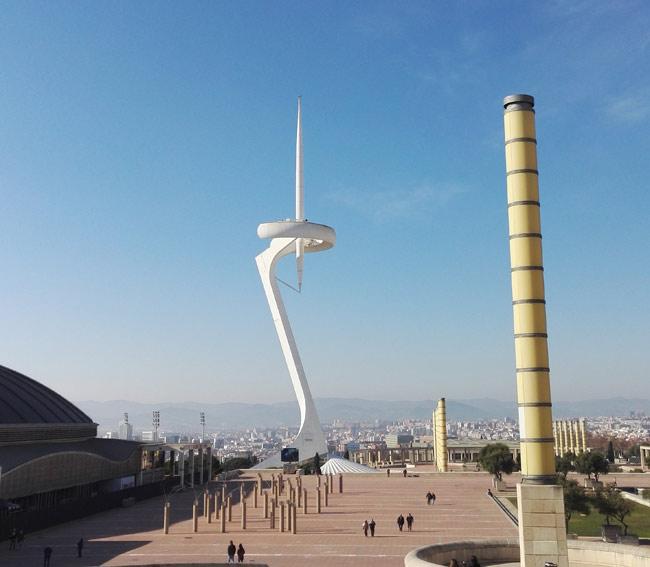 barcelona olympiagelaende