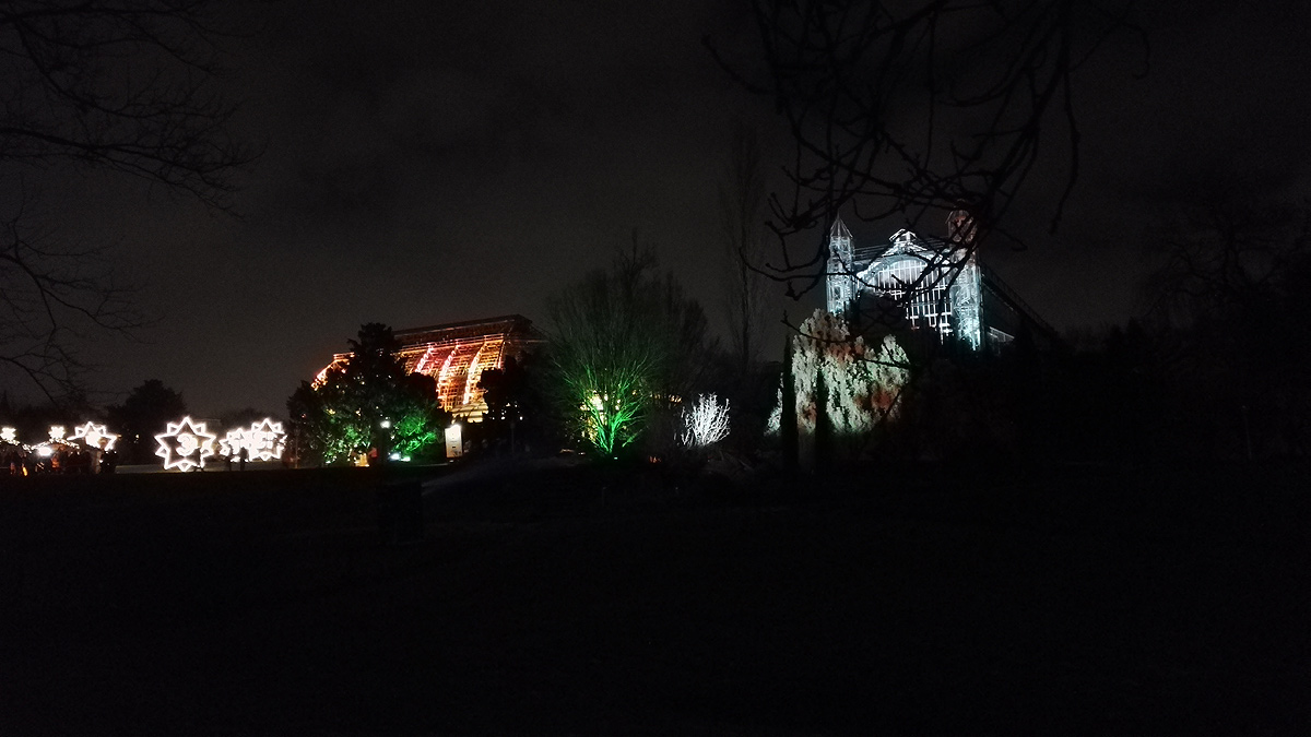 Der Christmas Garden in Berlin 2017 - Tropenhaus
