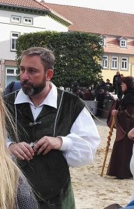 mittelalterfest, spektakel fest, bad langensalza buergermeister