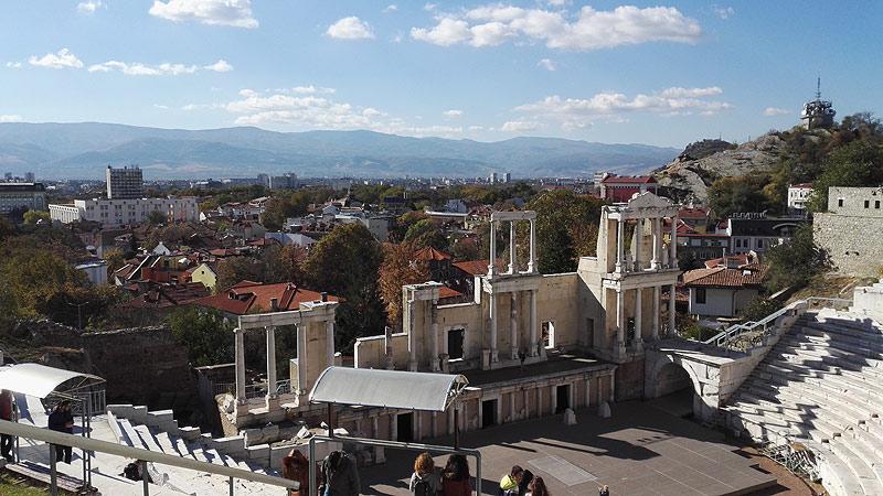 Das antike römische Theater in Plovdiv
