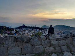 Blick vom Nebet Tepe über die Stadt Plovdiv Kulturhauptstadt 2019
