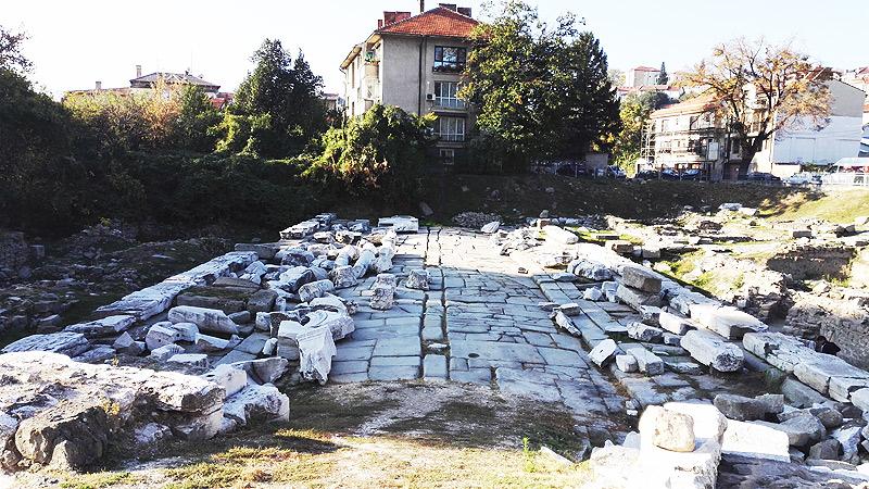 Plovdiv, Stadttor, alt, antike
