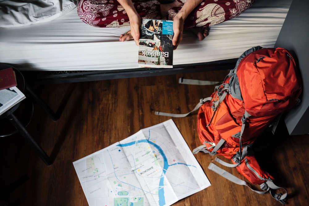 kleines gepäck bei rundreisen
