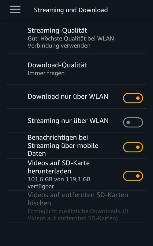 prime video download netflix app auf reisen
