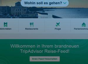 tripadvisor feed neu, für reise blogger