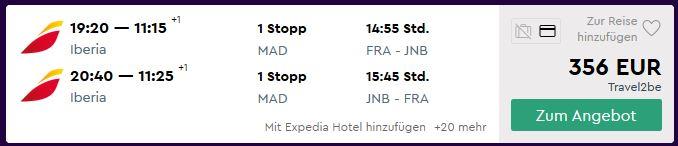 frankfurt johannesburg fluege billig