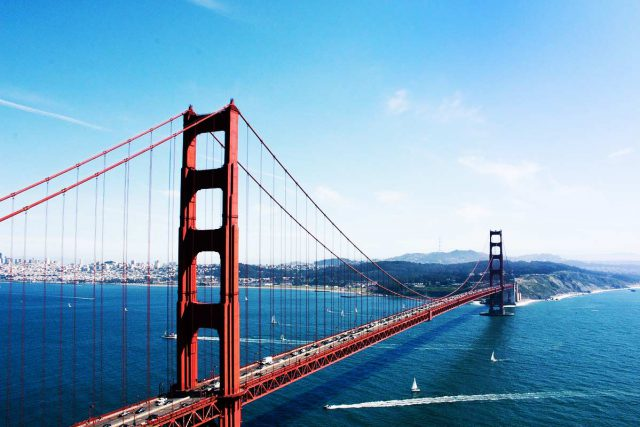 san francisco golden gatebridge billige fluege kalifornien