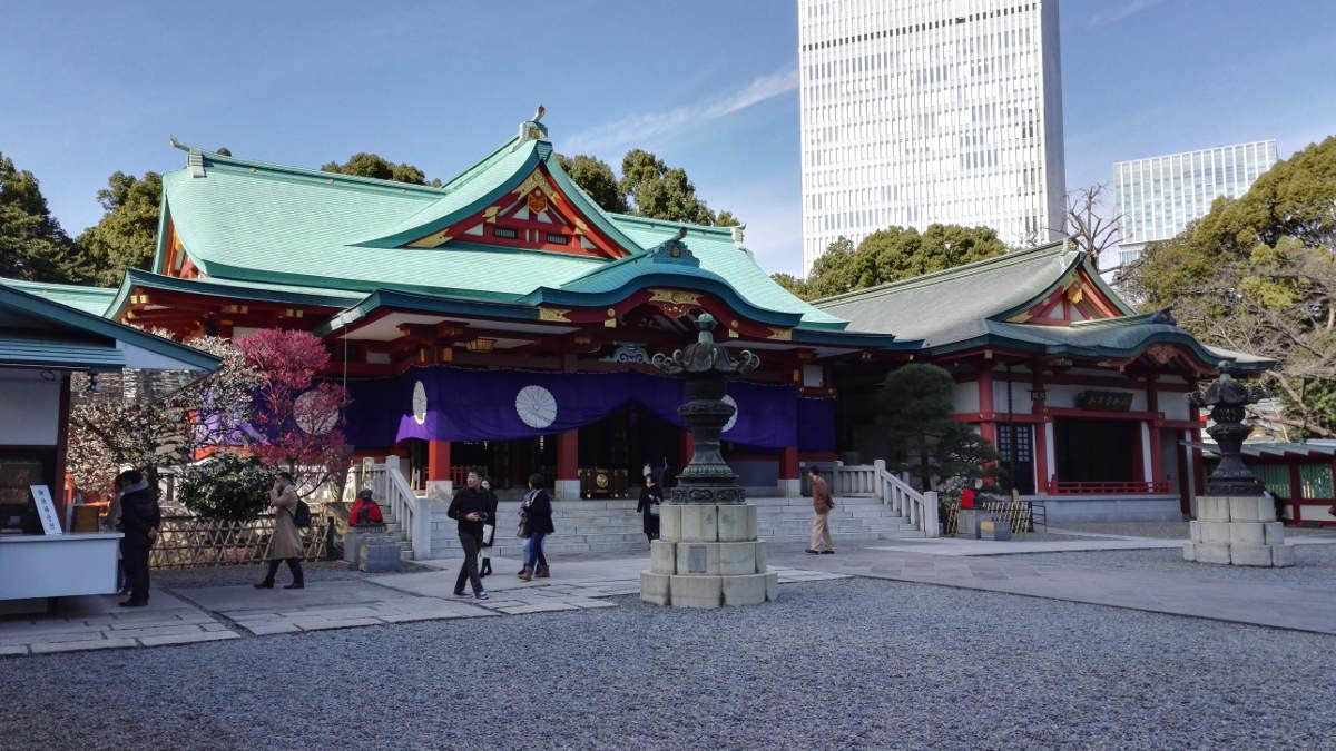 Der Hie-Schrein in Tokyo Japan Reise Tipps