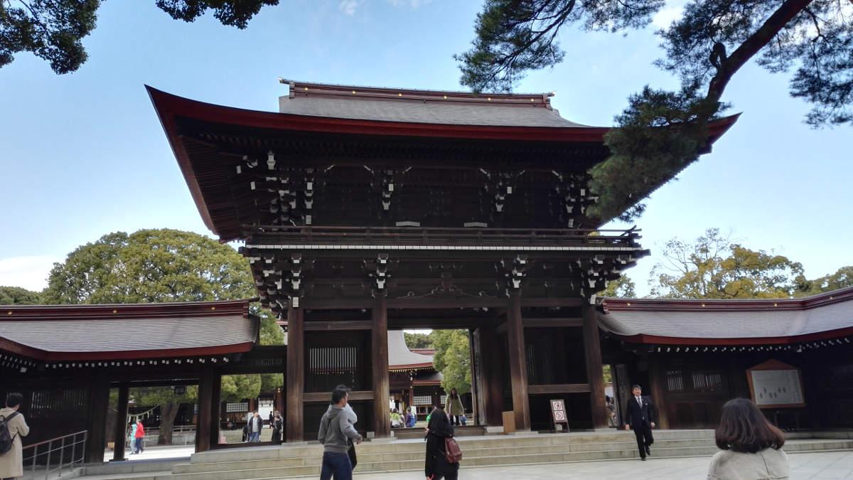 meiji tokio schrein reise tipps japan