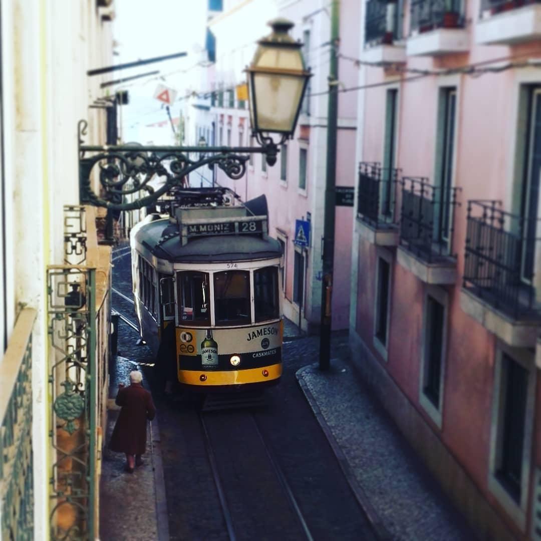 Lissabon Straßenbahn Electrico 28